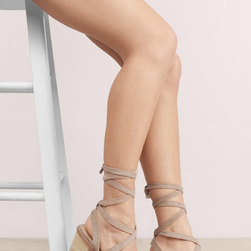 Chinese Laundry Calvary Tie Suede Sandals