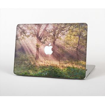 "The Pink Sun Ray Meadow Skin Set for the Apple MacBook Pro 13"" with Retina Display"