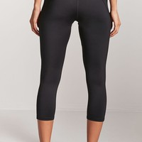 Active Metallic-Panel Capri Leggings