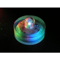 Submersible Battery LED Everlasting Tealights, Color Changing with 7 Rainbow Colors. Great for...