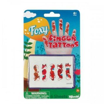 ONETOW Foxy Finger Tattoos