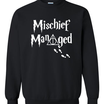 Mischief managed Crewneck Sweatshirt
