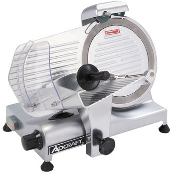 "Admiral Craft SL250ES-10 Commercial Light Duty Slicer 1/4 Horsepower 10"" Blade"
