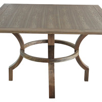"Lacey 48"" Dining Table, Walnut"