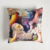 Nautical Friends and Anemones Pillow by ModCloth
