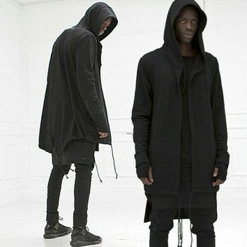 Hooded Jacket Long cardigan Gothic Punk Hoodie