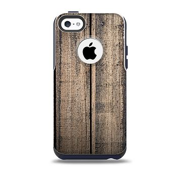 The Worn Planks of Wood Skin for the iPhone 5c OtterBox Commuter Case