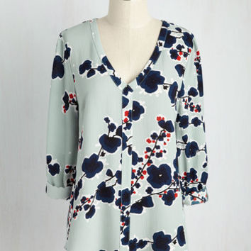 Pergola Proposal Top | Mod Retro Vintage Short Sleeve Shirts | ModCloth.com