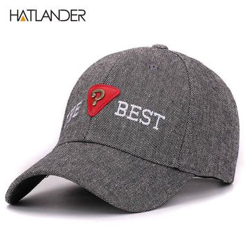 Grey baseball caps outdoor sports golf hats bone hip hop caps women men baseball cap