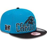 Men's New Era Carolina Panthers 2013 Draft 9FIFTY® Structured Snapback Adjustable Hat