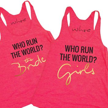Who Run the World Girls / The Bride Tank