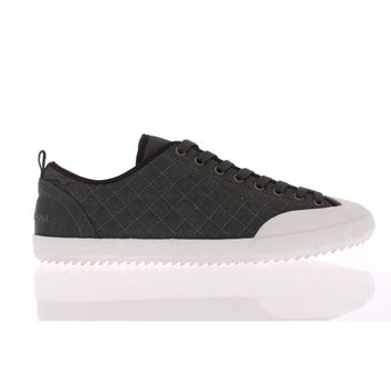 Dolce & Gabbana White Gray Quilted Sport Sneakers Shoes
