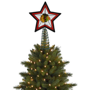 Chicago Blackhawks Tree Topper