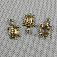 2x Making Jewellery Supply Supplies Vintage Lots Jewelry Findings Charms Schmuckteile Charme 4-A2752 Sea turtle