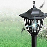 2 in 1 Solar Insect Zapper and Light