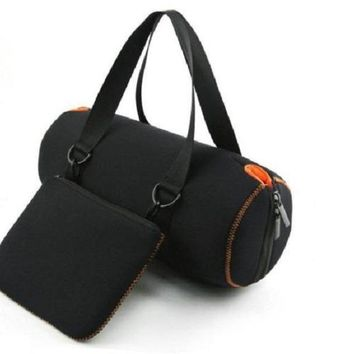 Portable Travel Soft Protective Cover Carrying Case Bag For Speaker
