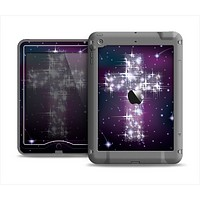 The Glowing Starry Cross Apple iPad Mini LifeProof Nuud Case Skin Set