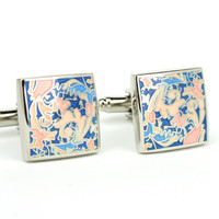 Art Nouveau 1930s Vintage Style Cuff Links Monkey Suits