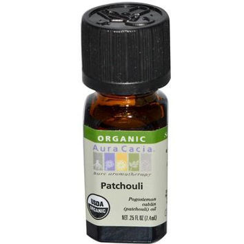 Aura Cacia Organic Patchouli Essential Oil (1x.25 Oz)