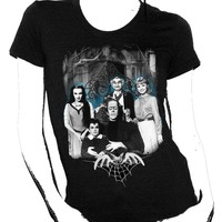Munsters Family Ladies T-Shirt :: VampireFreaks Store :: Gothic Clothing, Cyber-goth, punk, metal, alternative, rave, freak fashions