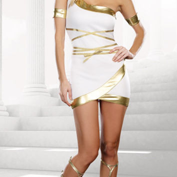 Worship Me Goddess Costume