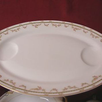 Theodore Haviland Limoges France from 1892 to 1907  mark is T75B Platter 18""