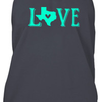 Love Texas Country Tank Top
