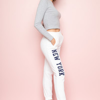 Felicia New York Sweatpants - Pants - Bottoms - Clothing