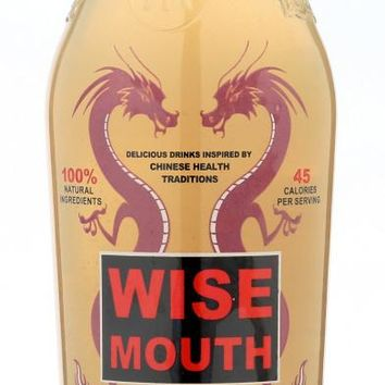 WISE MOUTH: Mountain Pear Beverage, 16 oz