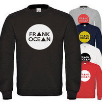 FRANK OCEAN SWEATER CIRCLE HIPSTER TRIANGLE SWEATSHIRT OFWG JUMPER FRESH DOPE