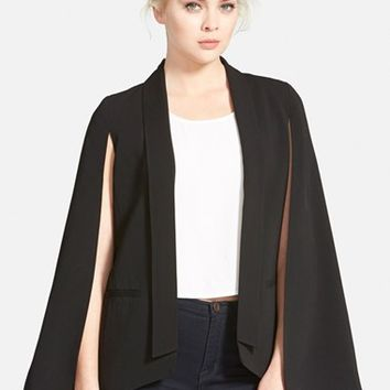 Women's Mural Cape Blazer,