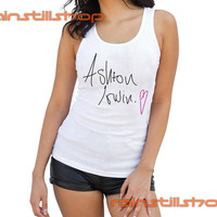 love ashton irwin - tank top for women