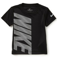 Nike Little Boys 2T-7 Short-Sleeve Block Squiggle Dri-FIT Tee | Dillards