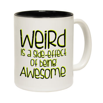 123t USA Weird Is A Side Effect Of Being Awesome Funny Mug