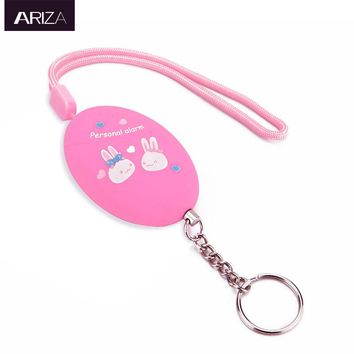 2017 new model self defense  personal keychain alarma accept customized for women kids girls students elderly