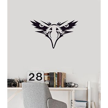 Vinyl Wall Decal Eagle Eyes Face Bird Tribal Art Decoration Room Stickers Mural (ig6019)