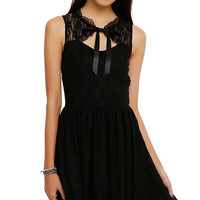 Spin Doctor Black Lace Dress