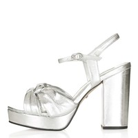 LIBBY Knotted Platform Sandals - Shoes