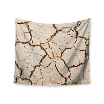 "KESS Original ""Drought"" Brown Beige Wall Tapestry"