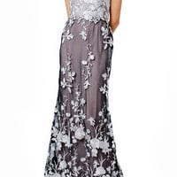 Marchesa Notte Fontaine Gown