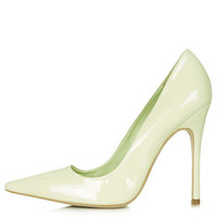 GALLOP Patent Court Shoes - Green