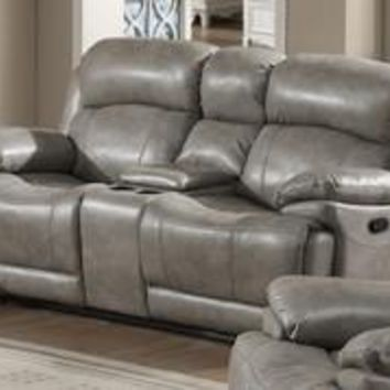 Estella Reclining Loveseat w/ Storage Console