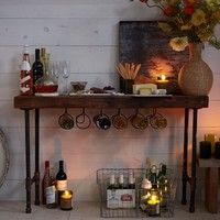 Industrial Wine Console