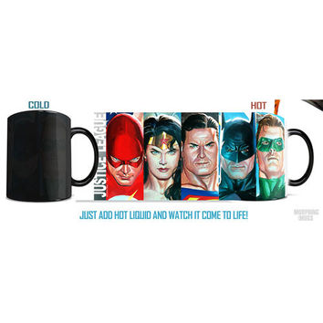 Justice League Alex Ross Morphing Mug