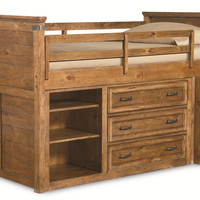 Bryce Canyon Mid Loft Bed by Legacy Classic Kids