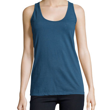 Basic Cotton Tank, Deep Dawn, Size: