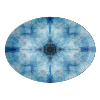 Scattered Petals Porcelain Serving Platter
