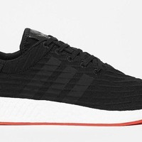 Adidas NMD_R2 PK Nomad Primeknit Black/Red/White BA7252 - BRAND NEW Size 10