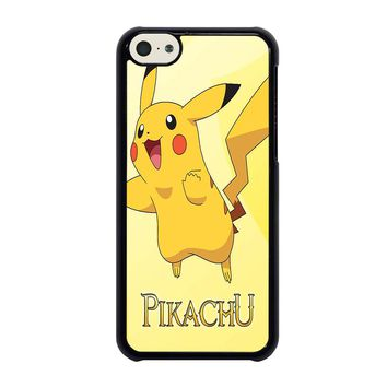 FUNNY CUTE PIKACHU POKEMON iPhone 5C Case