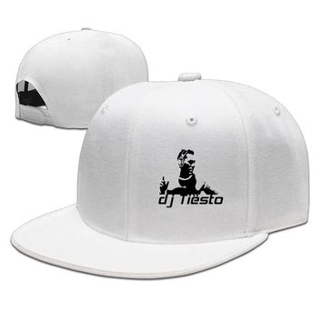 Dj Tiesto Cool Poster Sketch Clipart Printing Unisex Adult Womens Hip-hop Hats Mens Baseball Hats